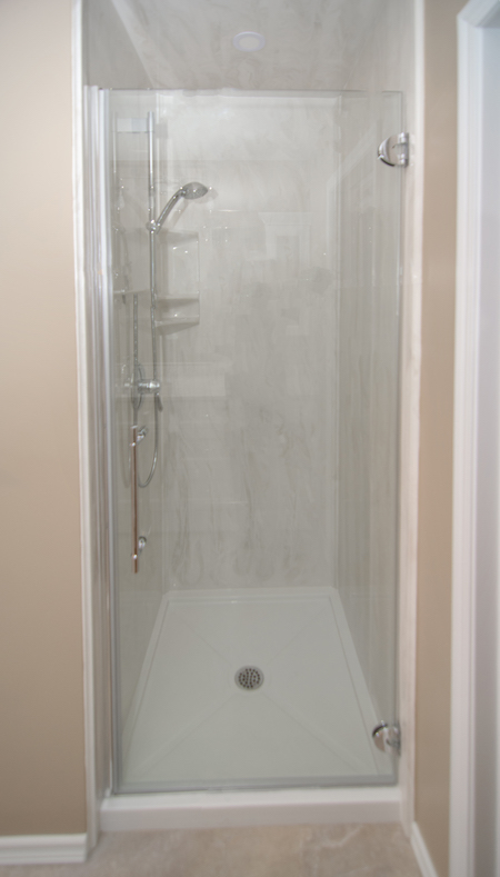 shower renovations edmonton - new renovated shower