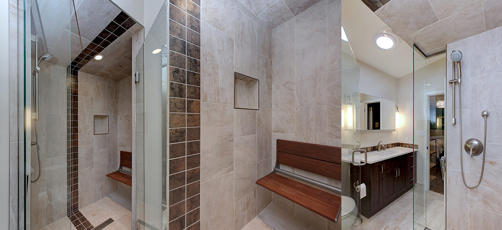 shower showcase - edmonton shower renovations